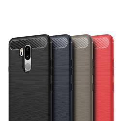Stöttåligt Armor Carbon TPU-skal LG G7 ThinQ - fler färger Svart