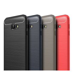 Stöttåligt Armor Carbon TPU-skal Samsung J4 Plus - fler färger Röd