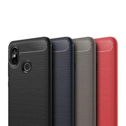 Stöttåligt Armor Carbon TPU-skal Xiaomi Mi 8 - fler färger Svart