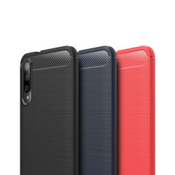 Stöttåligt Armor Carbon TPU-skal Xiaomi Mi A3 - fler färger Blå