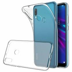 Transparent Silikon TPU-Skal till Huawei Y6 2019 Transparent