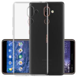 Transparent Silikon TPU-Skal till Nokia 7 Plus Transparent
