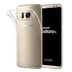 Transparent Silikon TPU-Skal till Samsung S8 PLUS Transparent