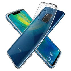 Tunt Genomskinligt Mobilskal Huawei Mate 20 Pro Transparent transparent