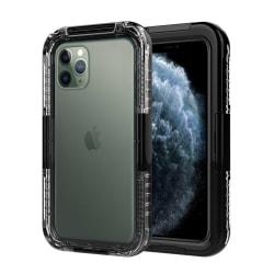 iPhone 11 Pro Vattentätt Fodral Skal Undervattenshus svart