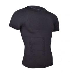 Hållningströja för Bättre Hållning Posture T-shirt XXL Svart svart