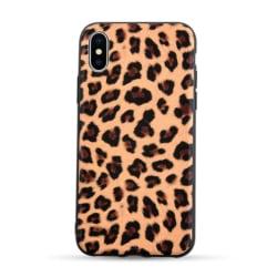 iPhone 7 8 Plus Mobilskal Animal Print Leopard Mönster flerfärgad