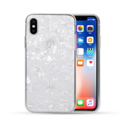 iPhone 7 8 Plus Mobilskal Genomskinlig Diamant Mönster transparent