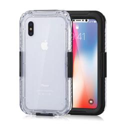 iPhone 8 Plus Vattentätt Fodral Skal Undervattenshus svart
