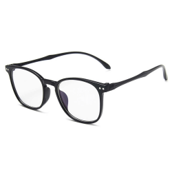 Moderna Mattsvarta Glasögon Klart Glas utan Styrka Klarglas svart