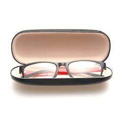 Praktiskt Glasögonfodral Fodral i Skinn för Solglasögon Glasögon