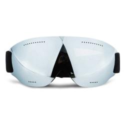 Skidglasögon Silver Spegelglas Mirro Goggles MC MX UV-Skydd silver