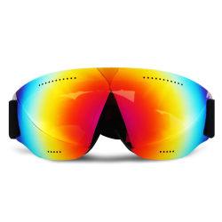 Skidglasögon Spegelglas Regnbåge Goggles MC MX UV-Skydd flerfärgad