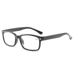 Smala Svarta Läsglasögon Styrka 1.0 Glasögon svart
