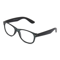 Svarta Wayfarer Läsglasögon Styrka 2.0 Glasögon svart