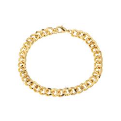 Tjock Kedja i Guld Herrarmband Länk Armband guld