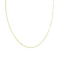 Tunn Guldkedja Kedjehalsband Halsband Kedja Länk Guld 1,5mm guld