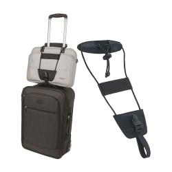 Väskhållare Fäst Väska Datorväska Handbagage på Resväska svart
