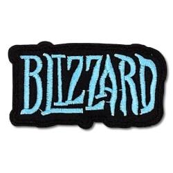 Blizzard - Tygmärke - Logo Svart