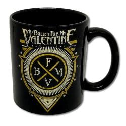 Bullet For My Valentine - Mugg - Emblem Svart