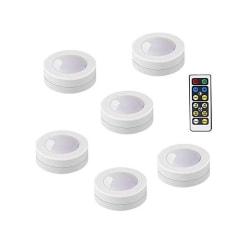 6st Trådlösa LED-belysningar LedEYE med timer och fjärrkontro