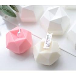 DIY Silikonform mold Stearinljus, Plaster Candle, 3D Rubiks kub