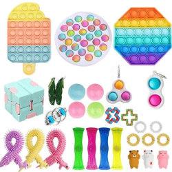 fidget toys pop it stressbollar fidget toys pack/set 30 st