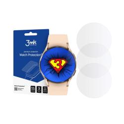 Samsung Galaxy Watch 4 (40mm) •3x Skärmskydd • HybridGlass 0...