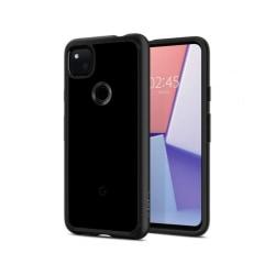 Google Pixel 4a • Mobilskal • Spigen Ultra Hybrid • Svart