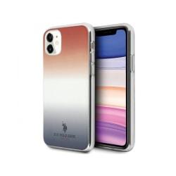 iPhone 11 • Mobilskal • US Polo • Gradient • Blå/Röd