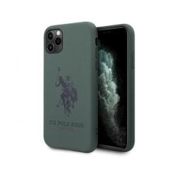 iPhone 11 Pro Max • Mobilskal • US Polo • Silicone • Grön...