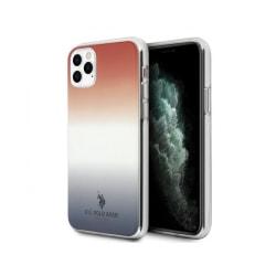 iPhone 11 Pro • Mobilskal • US Polo • Gradient • Blå/Röd...