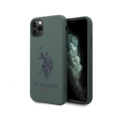 iPhone 11 Pro • Mobilskal • US Polo • Silicone • Grön