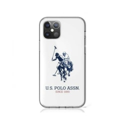 iPhone 12 / 12 Pro • Mobilskal • US Polo • Glossy • Vit