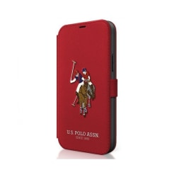 iPhone 12 / 12 Pro • Plånboksfordal • US Polo • Brodery Line ...