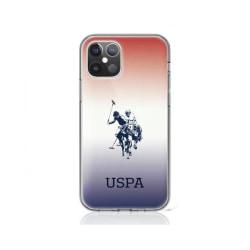 iPhone 12 Pro Max • Mobilskal • US Polo • Gradient • Blå/Röd...