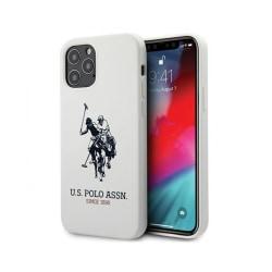 iPhone 12 Pro Max • Mobilskal • US Polo • Silicone • Vit