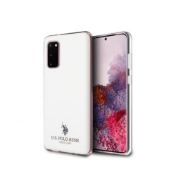 Samsung Galaxy S20 • Mobilskal • US Polo • Glossy • Vit
