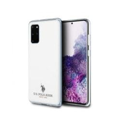 Samsung Galaxy S20 Plus • Mobilskal • US Polo • Glossy • Vit...