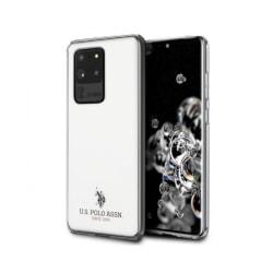 Samsung Galaxy S20 Ultra • Mobilskal • US Polo • Glossy • Vit...