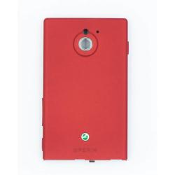 Xperia Sola batterilucka röd