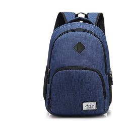 Ryggsäckar med USB blå