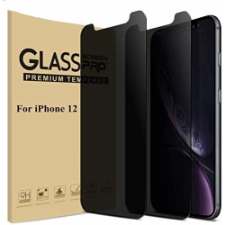 2 st Sekretes sskärmskydd för iPhone 12