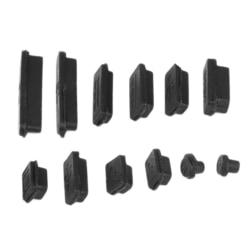 Macbook Air / Pro - Dammskydd mot damm och smuts svart