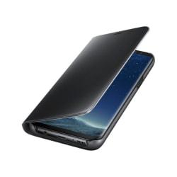 Samsung S8 Flip fodral View Cover - Svart svart