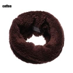 1 st Scarf Neck Warmer Collar Scarves COFFEE
