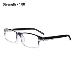 Läsglasögon Presbyopic glasögon STYRKA +4,00 STYRKA Strength +4.00