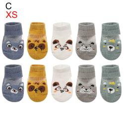 5Pair / lot 0-3Y Baby Baby Socks Boy Girl Socks XS (0-1Y) CC XS(0-1Y)C