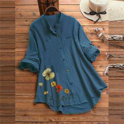 Blus T-shirt DARK BLUE XL