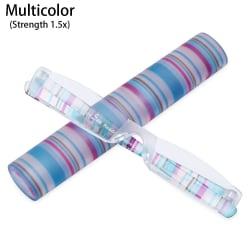 Unisex läsglasögon Små läsglasögon MULTICOLOR multicolor Strength 1.5x